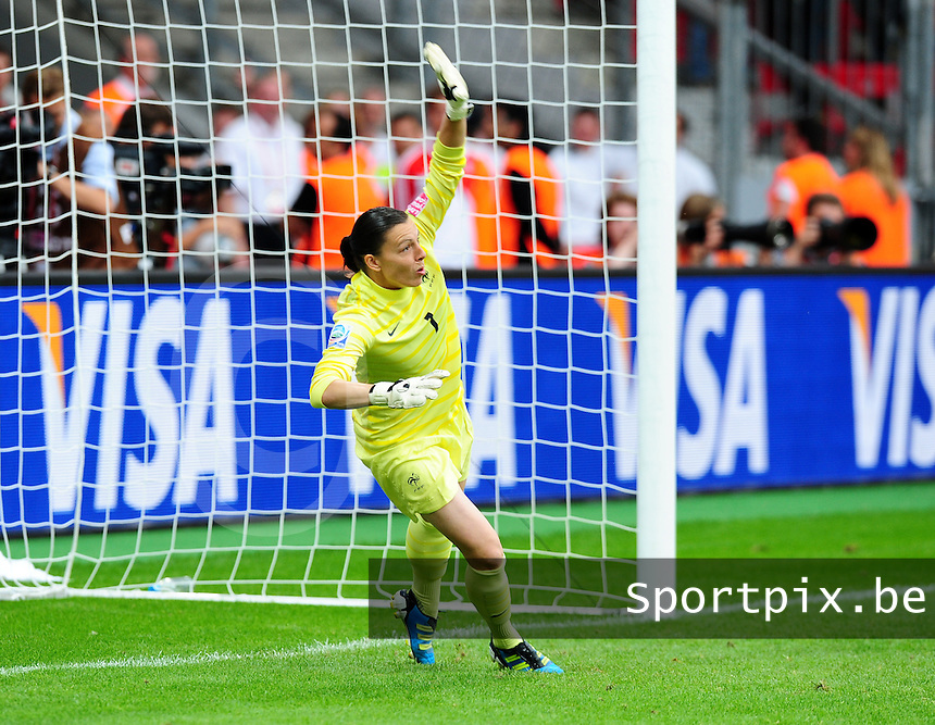 Fifa Women's World Cup Germany 2011 : England - France - at Leverkusen : Celine Deville.foto DAVID CATRY / Vrouwenteam.be