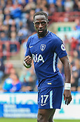 30th September 2017, The John Smiths Stadium, Huddersfield, England; EPL Premier League football, Huddersfield Town versus Tottenham Hotspur; Moussa Sissoko of Tottenham Hotspur FC celebrates his 90+1 minute goal to make it 4-0