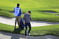 Jordan Spieth (USA) in a fairway bunker on the 6th hole at Pebble Beach Golf Links during Saturday's Round 3 of the 2017 AT&amp;T Pebble Beach Pro-Am held over 3 courses, Pebble Beach, Spyglass Hill and Monterey Penninsula Country Club, Monterey, California, USA. 11th February 2017.<br /> Picture: Eoin Clarke | Golffile<br /> <br /> <br /> All photos usage must carry mandatory copyright credit (&copy; Golffile | Eoin Clarke)