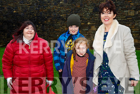Enjoying Circus Siamsa on Saturday were Sinead O'Donnell, Rody Clifford, Ellie Clifford and Mary O'Donnell