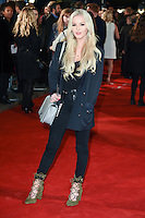 LONDON, UK. October 19, 2016: Betsy-Blue English at the premiere of &quot;The Light Between Oceans&quot; at the Curzon Mayfair, London.<br /> Picture: Steve Vas/Featureflash/SilverHub 0208 004 5359/ 07711 972644 Editors@silverhubmedia.com