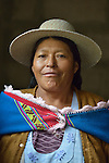Teodora Martinez Mamani is a local community member working to clean up toxic acid runoff from the Kumurana Mine near Caiza D, Bolivia. The mine, which is closed, produces highly polluted water that negatively impacts the farms and lives of people living downstream. An international coalition of engineers is working with local miners and farmers to clean up the mine.