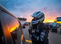 Apr 20, 2018; Baytown, TX, USA; NHRA funny car driver Shawn Langdon during qualifying for the Springnationals at Royal Purple Raceway. Mandatory Credit: Mark J. Rebilas-USA TODAY Sports