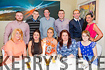 Fels Point Hotel Staff At their Belated Christmas Party in Manor West Hotel on Friday. Pictured front l-r Sarah McLoughlin, Heather Lee,Amy McLoughlin,Ellen O Sullivan and Amy Cahill, Back  l-r  Martin Kelliher,Neil O Sullivan,Michael Donnelon Paul O Connor, Darragh OConnor and Carol Heffernan