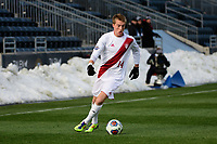 Chester, PA - Sunday December 10, 2017: Griffin Dorsey. Stanford University defeated Indiana University 1-0 in double overtime during the NCAA 2017 Men's College Cup championship match at Talen Energy Stadium.