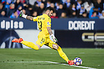Goalkeeper Iago Herrein of Deportivo Leganes in action during their La Liga match between Deportivo Leganes and Real Madrid at the Estadio Municipal Butarque on 05 April 2017 in Madrid, Spain. Photo by Diego Gonzalez Souto / Power Sport Images