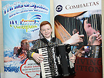 James White who took part in the Louth Fleadh competitions in St. Oliver's Community College Drogheda. Photo:Colin Bell/pressphotos.ie