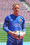 2014-05-22-Marc-Andre Ter Stegen Is Unveiled At Camp Nou As New Barcelona Signing.
