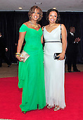 Gayle King and Kirby Bumpus arrive for the 2013 White House Correspondents Association Annual Dinner at the Washington Hilton Hotel on Saturday, April 27, 2013..Credit: Ron Sachs / CNP.(RESTRICTION: NO New York or New Jersey Newspapers or newspapers within a 75 mile radius of New York City)