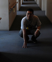 "Hesaki Fuji shiro, 32,  who locked himself in his room for 6 years. The phenomenen of locking oneself in a room, unable to face society and other humans is known as ""hikikomori"" in Japan.There are apparently 1.3 million hikimori in Japan.<br /> <br /> 10-Oct-2006"