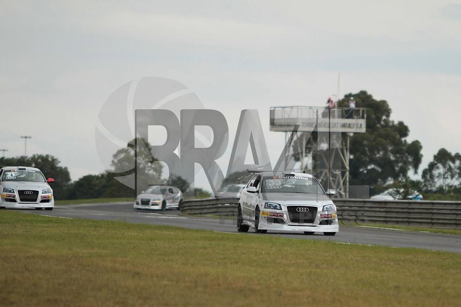 CURITIBA, PR, 09 DE ABRIL 2011 – AUDI DTCC – Curitiba recebe até sábado (9), no Autódromo Internacional de Pinhais, na Região Metropolitana de Curitiba, o Audi DTCC - Driver Touring Car Cup -, a mais nova categoria do automobilismo nacional. O campeonato utiliza os modelos Audi A3 Sport modificados e preparados. O calendário da categoria é composto por seis rodadas duplas, totalizando 12 corridas. A próxima etapa acontece nos dias 17 a 19 de junho no Velopark (RS). (ROBERTO DZIURA JU/NEWS FREE)