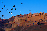 Sunrise at the Amber Fort in Jaipur