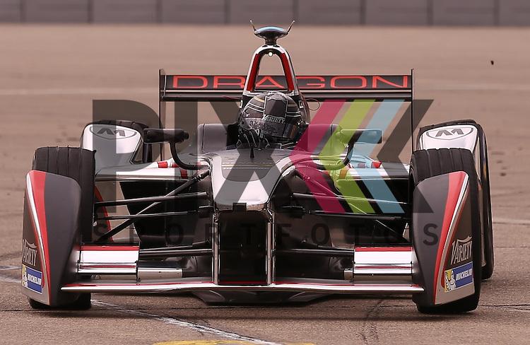 Berlin, 23.05.2015, Motorsport, FIA Formel E Championship, Formel E DHL Berlin ePrix, 8. Rennen : Jerome D'Ambrosio (Dragon Racing, #07)<br /> <br /> Foto &copy; P-I-X.org *** Foto ist honorarpflichtig! *** Auf Anfrage in hoeherer Qualitaet/Aufloesung. Belegexemplar erbeten. Veroeffentlichung ausschliesslich fuer journalistisch-publizistische Zwecke. For editorial use only.