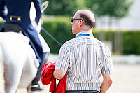 German Federation Dressage Coach: Jonny Hilberath 2017 GER-CHIO Aachen Weltfest des Pferdesports. Wednesday 19 July. Copyright Photo: Libby Law Photography