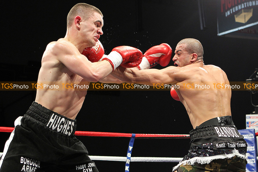 Joe Elfidh vs Joe hughes in a boxing contest at Hillsborough Leisure Centre, Sheffield, promoted by Frank Maloney - 03/03/12 - MANDATORY CREDIT: Chris Royle/TGSPHOTO - Self billing applies where appropriate - 0845 094 6026 - contact@tgsphoto.co.uk - NO UNPAID USE..