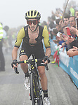 Adam Yates (GBR) Mitchelton-Scott on the final climb of Stage 17 of the La Vuelta 2018, running 157km from Getxo to Balcón de Bizkaia, Spain. 12th September 2018.                   <br /> Picture: Colin Flockton | Cyclefile<br /> <br /> <br /> All photos usage must carry mandatory copyright credit (© Cyclefile | Colin Flockton)