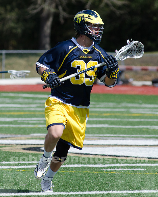The University of Michigan men's lacrosse team beat Mercer, 14-4, at D.B. Milne Field in Jacksonville, Fla., on March 4, 2012.