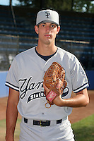 Staten Island Yankees Paul Patterson poses for a photo before a NY-Penn League game at Russell Diethrick Park on August 13, 2006 in Jamestown, New York.  (Mike Janes/Four Seam Images)