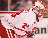 Jake Oettinger (BU - 29) - The Harvard University Crimson defeated the Boston University Terriers 6-3 (EN) to win the 2017 Beanpot on Monday, February 13, 2017, at TD Garden in Boston, Massachusetts.