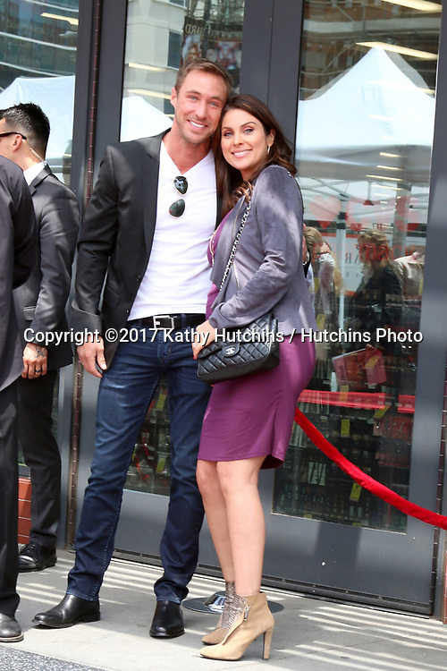 LOS ANGELES - MAY 15:  Kyle Lowder, Nadia Bjorlin at the Ken Corday Star Ceremony on the Hollywood Walk of Fame on May 15, 2017 in Los Angeles, CA