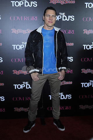 NEW YORK, NY - NOVEMBER 07: DJ Tiesto attends the Rolling Stone & Cover Girl Top DJ's event at TAO on November 7, 2012 in New York City. Credit: mpi01/MediaPunch Inc.