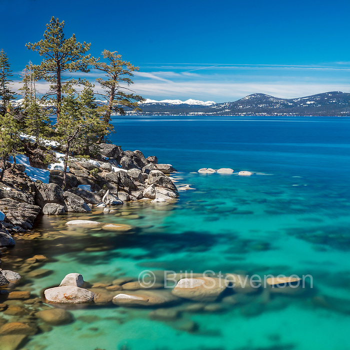 Memeorial Point on the east shore of Lake Tahoe in Nevada