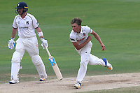 Aaron Beard in bowling action for Essex during Essex CCC vs Warwickshire CCC, Specsavers County Championship Division 1 Cricket at The Cloudfm County Ground on 22nd June 2017