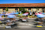 The peloton speed by during Stage 4 of the 2019 Tour de France running 213.5km from Reims to Nancy, France. 9th July 2019.<br /> Picture: ASO/Pauline Ballet | Cyclefile<br /> All photos usage must carry mandatory copyright credit (© Cyclefile | ASO/Pauline Ballet)