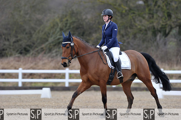 Class 1. British Dressage. Brook Farm training centre. Stapleford abbots. Essex. 10/03/2018. ~ MANDATORY CREDIT Garry Bowden/SIPPA - NO UNAUTHORISED USE - +44 7837 394578