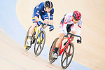 Benjamin Thomas of France and Shunsuke Imamura of Japan compete on the Men's Omnium Scratch during the 2017 UCI Track Cycling World Championships on 15 April 2017, in Hong Kong Velodrome, Hong Kong, China. Photo by Marcio Rodrigo Machado / Power Sport Images