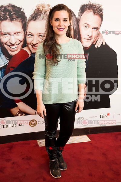 "Nuria Gago attends to the premiere of the theater play ""Los Vecinos de Arriba"" of the director Cesc Gayt at Teatro La Latina in Madrid. April 13, 2016. (ALTERPHOTOS/Borja B.Hojas)"