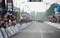 sprint towards the finish line<br /> <br /> Heistse Pijl 2016