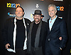 "Harvey Weinstein, James Dolan and  John Sykes  attend the New York Premiere of ""12-12-12"" on November 8, 2013 at the Ziegfeld Theatrein New York City."