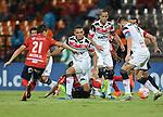 Independiente Medellín venció como local 2-0 a Santa Cruz. Partido de ida de los octavos de final de la Copa Sudamericana.
