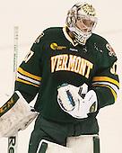 Brody Hoffman (UVM - 37) - The visiting University of Vermont Catamounts defeated the Northeastern University Huskies 6-2 on Saturday, October 11, 2014, at Matthews Arena in Boston, Massachusetts.