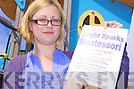 SPARKS: Marie Enright who is planning to open a new montessori school, Bright Sparks, in Asdee.