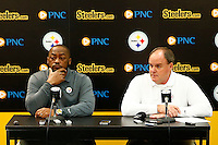 April 25, 2016: Pre-Draft Press Conference with Mike Tomlin & Kevin Cobert