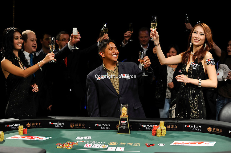 Victorino Torres is the champion of the APPT Macau Season Four Main Event.