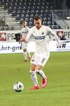 Mario Engels (Nr.8, SV Sandhausen) am Ball  beim Spiel in der 2. Bundesliga, SV Sandhausen - 1. FC Heidenheim 1846.<br /> <br /> Foto © PIX-Sportfotos *** Foto ist honorarpflichtig! *** Auf Anfrage in hoeherer Qualitaet/Aufloesung. Belegexemplar erbeten. Veroeffentlichung ausschliesslich fuer journalistisch-publizistische Zwecke. For editorial use only. For editorial use only. DFL regulations prohibit any use of photographs as image sequences and/or quasi-video.