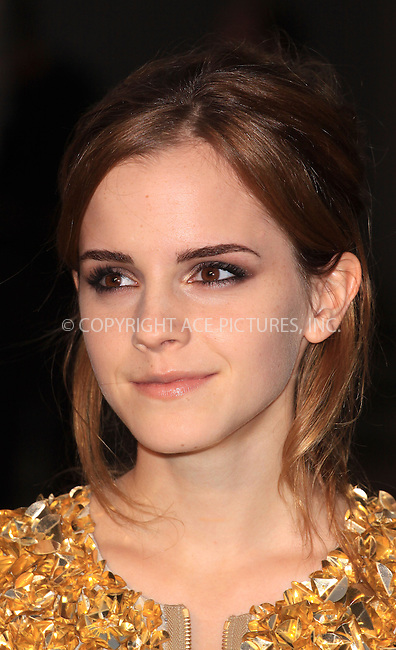 WWW.ACEPIXS.COM . . . . .  ..... . . . . US SALES ONLY . . . . .....September 22 2009, London....Emma Watson at the Burberry Spring/Summer 2010 show at London Fashion Week on September 22, 2009 in London....Please byline: FAMOUS-ACE PICTURES... . . . .  ....Ace Pictures, Inc:  ..tel: (212) 243 8787 or (646) 769 0430..e-mail: info@acepixs.com..web: http://www.acepixs.com