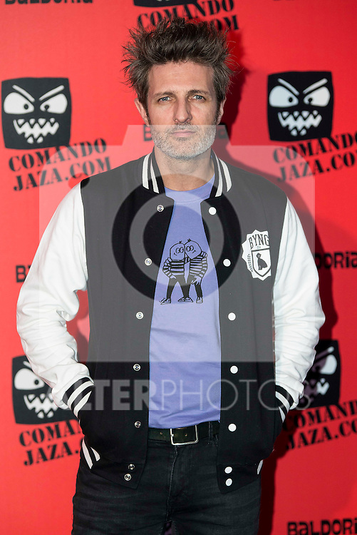 "Jesus Olmedo attends the presentation of the brand ""Comando Jaza"" in Madrid, December 14, 2015<br /> (ALTERPHOTOS/BorjaB.Hojas)"