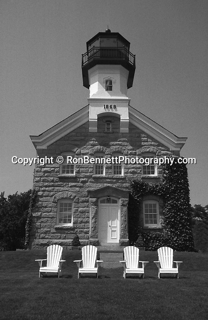 Sheffield Island Light House Norwalk Connecticut, Sheffield Island Lighthouse 1827, Norwalk settled in 1649 was major oystering and pottery centers, Sheffield Island dangerous ledges of entrance to city's harbor, Fine Art Photography by Ron Bennett, Fine Art, Fine Art photography, Art Photography, Copyright RonBennettPhotography.com ©