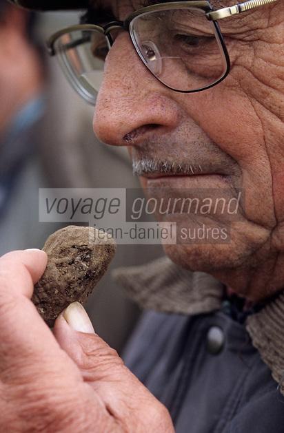 Europe/France/Midi-Pyrénées/46/Lot/Trespoux-Rassiels: Mr Decas père - Viticulteur et trufficulteur  [Non destiné à un usage publicitaire - Not intended for an advertising use]