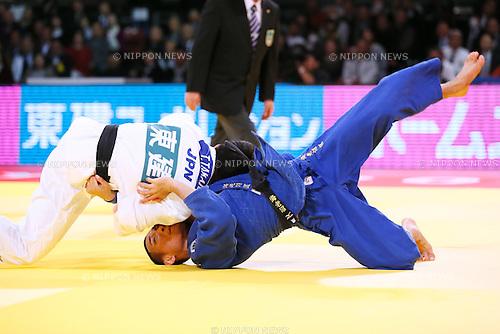 Masashi Ebinuma (JPN), DECEMBER 4, 2015 - Judo : IJF Grand Slam Tokyo 2015 International Judo Tournament Men's -66kg Final at Tokyo Metropolitan Gymnasium, Tokyo, Japan. (Photo by Sho Tamura/AFLO SPORT)