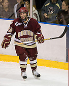 Joe Whitney (BC - 15) - The Merrimack College Warriors defeated the Boston College Eagles 5-3 on Sunday, November 1, 2009, at Lawler Arena in North Andover, Massachusetts splitting the weekend series.