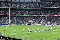 General view of play from the Corinthian Sports boxes during the RBS 6 Nations match between England and Scotland at Twickenham Stadium on Saturday 11th March 2017 (Photo by Rob Munro/Stewart Communications)