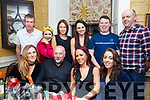 Chief Fitness Tralee enjoying their Christmas party in the Brogue Inn on Friday night. Front l-r, Mairead McMahon, Sean McClaughan, Sarah Ward and Gillian Lewis.<br /> Back l-r, Gerard Crimmins, Suzy Cornan, Marilyn McElligott, Deirdre McMahon, Greg Murphy and Gary O&rsquo;Sullivan.