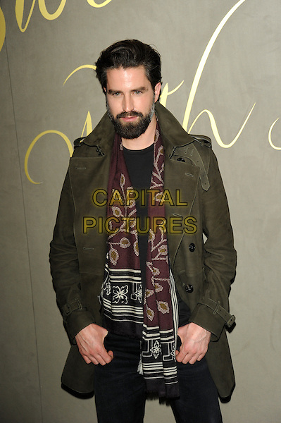 LONDON, ENGLAND - NOVEMBER 3: Jack Guinness attends the Burberry Festive Film Premiere at Burberry Regent Street on November 3, 2015 in London, England.<br /> CAP/CJ<br /> &copy;CJ/Capital Pictures