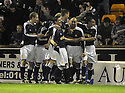 11/02/2008    Copyright Pic: James Stewart.File Name : sct_jspa09_motherwell_v_dundee.PAUL MCHALE (2ND RIGHT) IS CONGRATULATED AFTER HE SCORES DUNDEE'S FIRST.James Stewart Photo Agency 19 Carronlea Drive, Falkirk. FK2 8DN      Vat Reg No. 607 6932 25.Studio      : +44 (0)1324 611191 .Mobile      : +44 (0)7721 416997.E-mail  :  jim@jspa.co.uk.If you require further information then contact Jim Stewart on any of the numbers above........