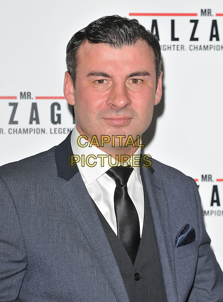 Joe Calzaghe attends the &quot;Mr Calzaghe&quot; gala film screening, The May Fair Hotel, Stratton Street, London, England, UK, on Wednesday 18 November 2015. <br /> CAP/CAN<br /> &copy;CAN/Capital Pictures